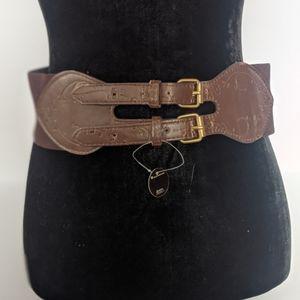 NWT {LuLu} Double Buckle Waist Belt
